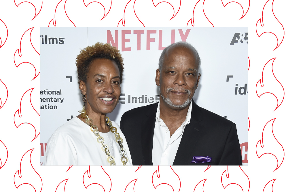 Firelight Media President Marcia Smith and Founder Stanley Nelson, at the 2016 IDA Documentary Awards, where Nelson received the Career Achievement Award. Photo: Matt Winkelmeyer/Getty Images