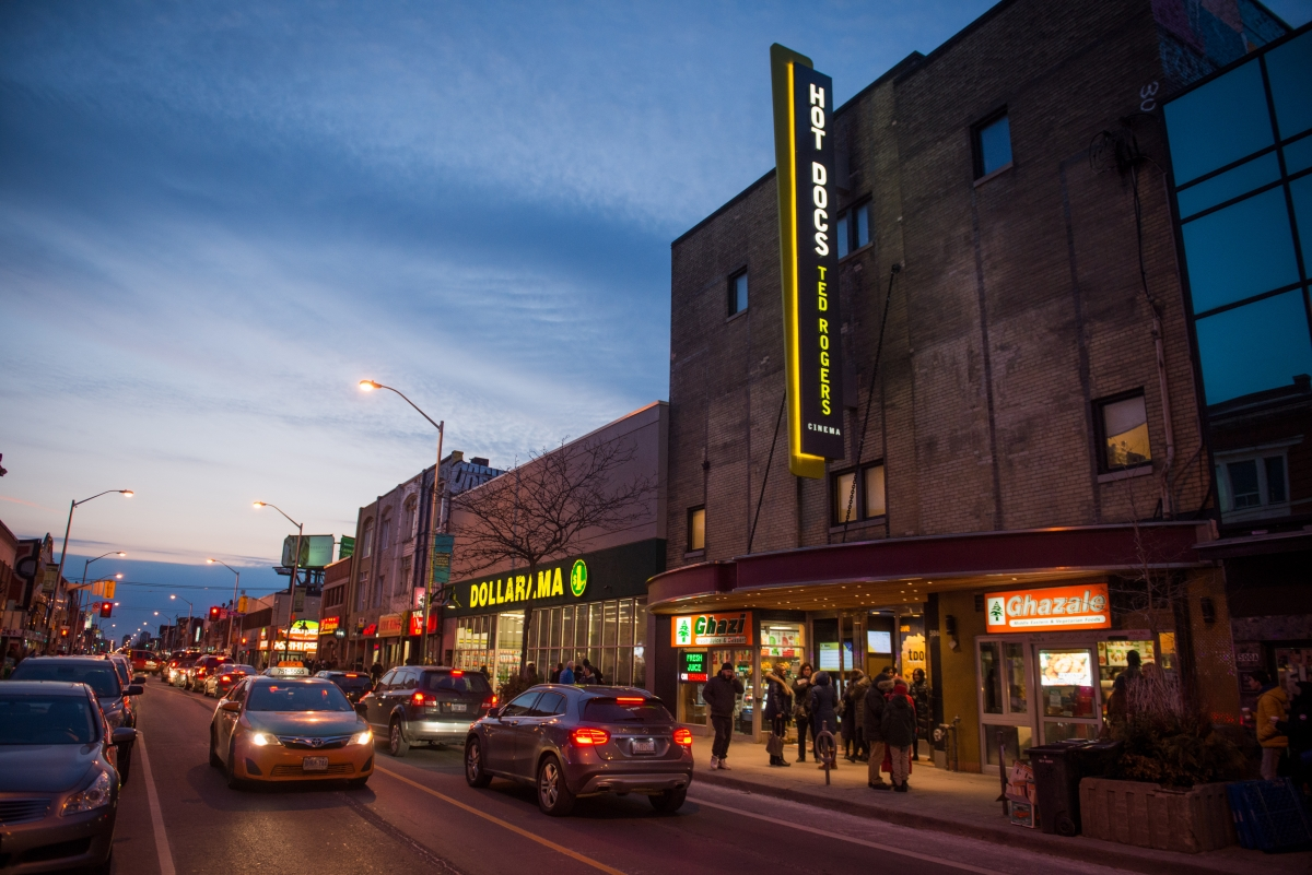 The Hot Docs Ted Rogers Cinema. Photo: Joseph Michael Howarth.