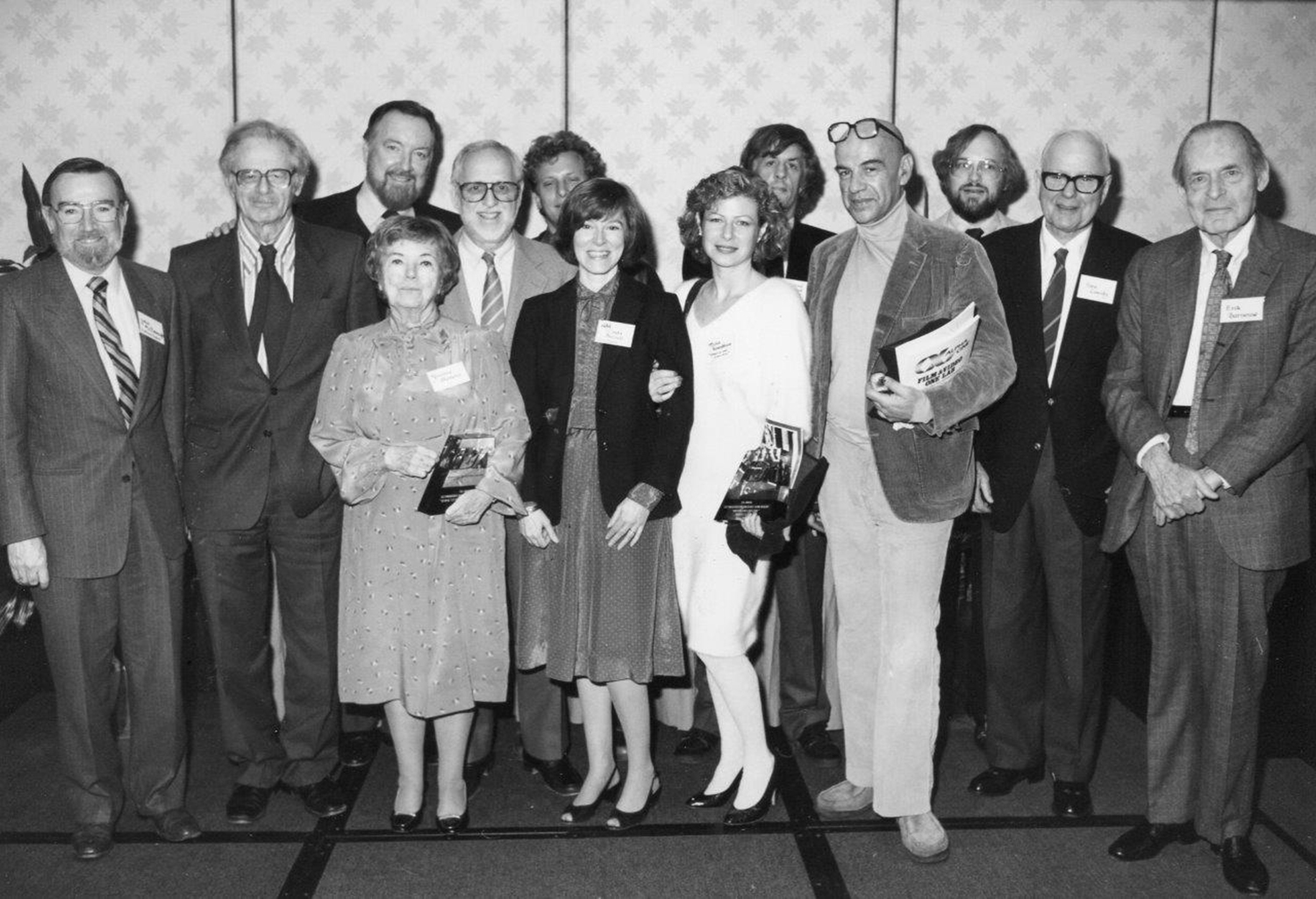 IDA Staff and inaugural IDA Documentary Awards winners gathered at the Sheraton Premiere hotel in Universal City, Calif. in 1985