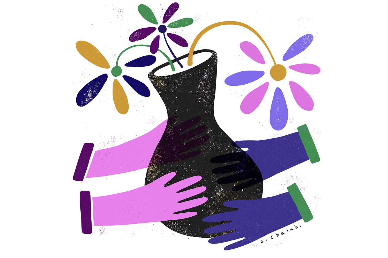 Illustration: Sawsan Chalabi (www.schalabi.com)