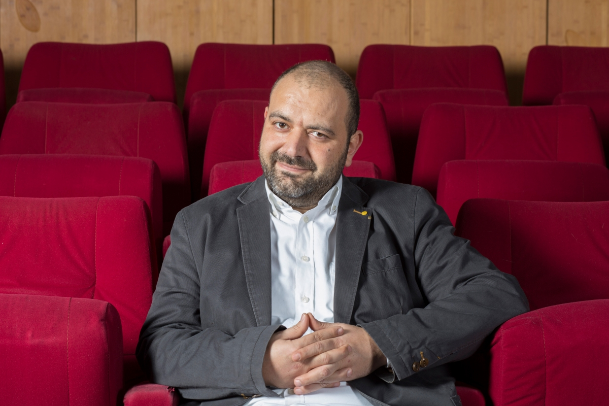 Orwa Nyrabia, IDFA's new artistic director. Courtesy of IDFA