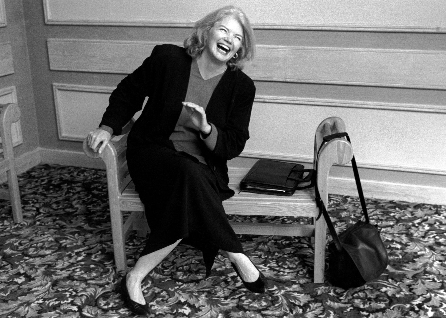 "From Janice Engel's ""Raise Hell: The Life & Times of Molly Ivins."" Photo: Robert Beddell"