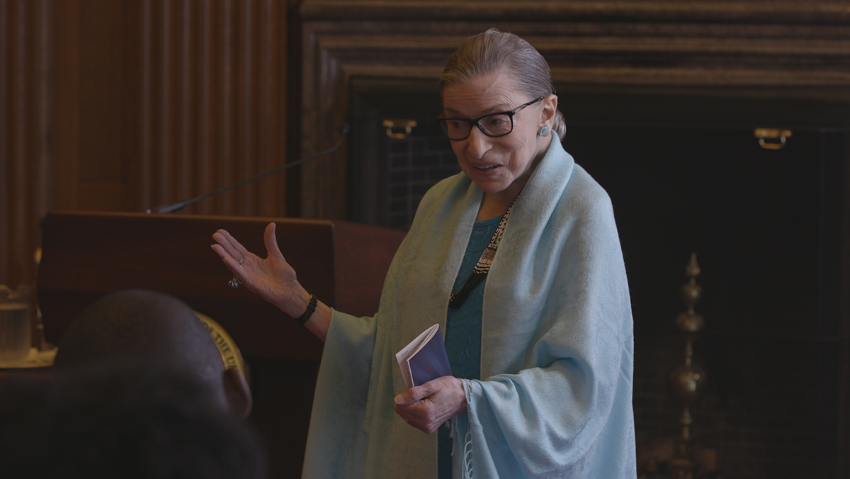 "From Betsy West and Julie Cohen's 'RBG."" Photo courtesy of Magnolia Pictyures/CNN Films."