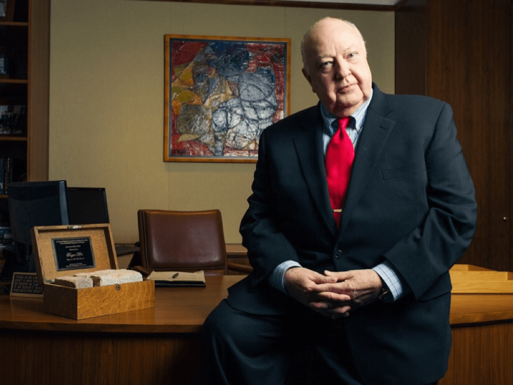 "The late Fox News Channel Chairman Roger Ailes, subject of the forthcoming ""Divide & Conquer: The Story of Roger Ailes."" Photo courtesy of Ninian Reid [CC BY 2.0 (https://creativecommons.org/licenses/by/2.0)], via Wikimedia Commons"