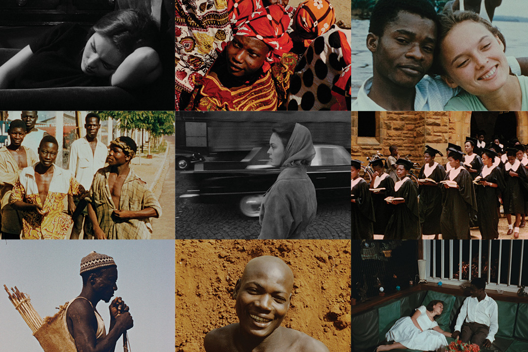Images from the 'Jean Rouch restored' collection from Icarus Films. Courtesy of Icarus Films