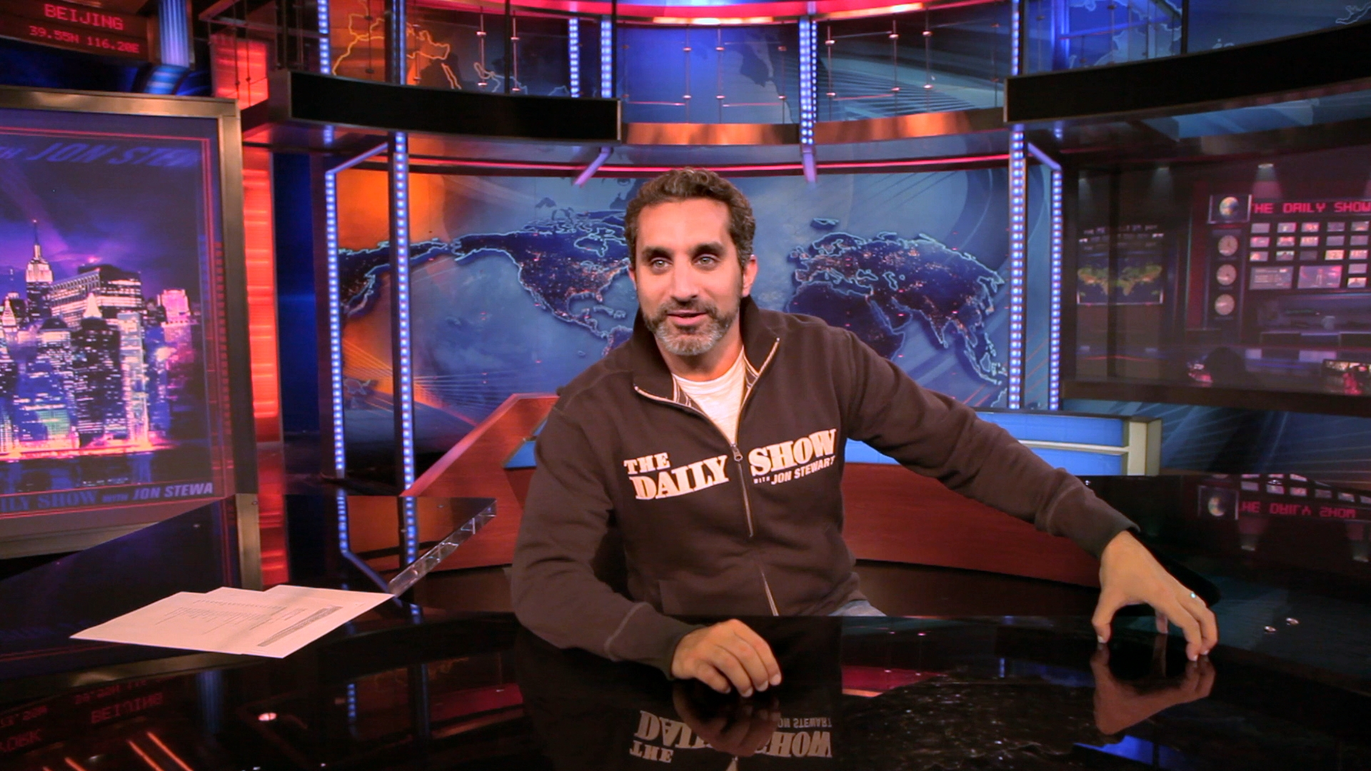 Bassem Youssef of 'Tickling Giants.'