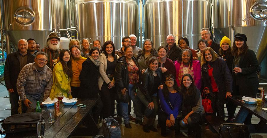 IDA Volunteers at Iron Triangle Brewery for Volunteer Appreciation Night.