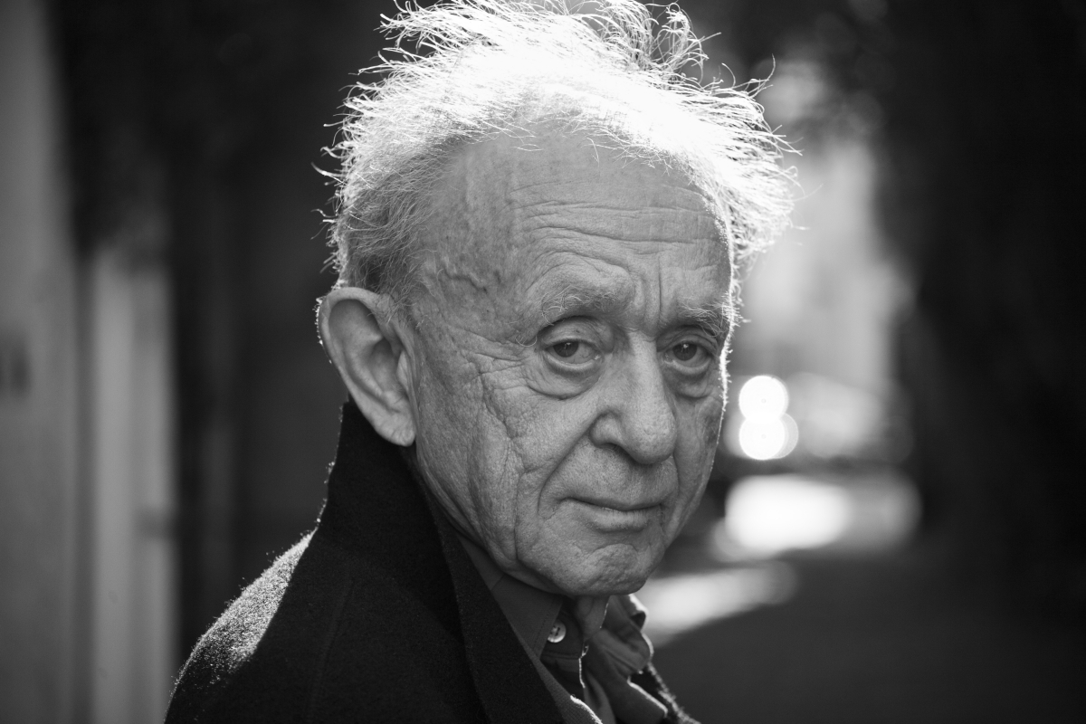 Filmmaker Frederick Wiseman. Photo: Erik Madigan Heck. Courtesy of Zipporah Films.