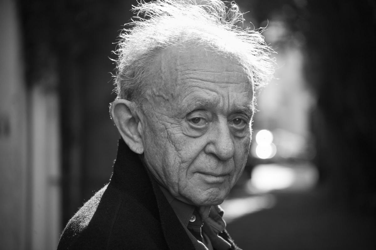 Filmmaker Frederick Wiseman. Photo: Erik Madigan Heck. Courtesy of Zipporah Films.