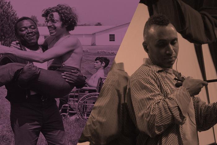 Left: still from 'Crip Camp'; Right: still from 'Vision Portrait'