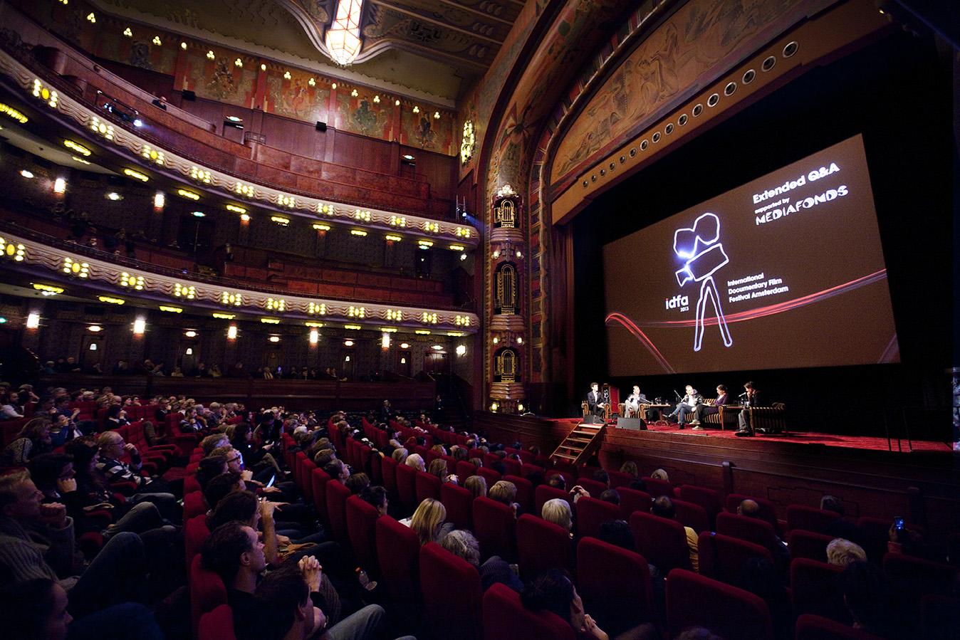 International Documentary Film Festival Amsterdam, IDFA 2013. Photo: Felix Kalkman.