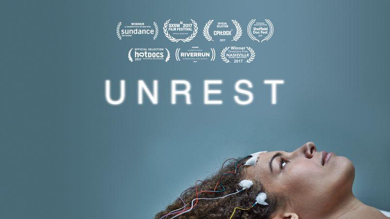 "Facebook homepage from Jennifer Brea's ""Unrest."""