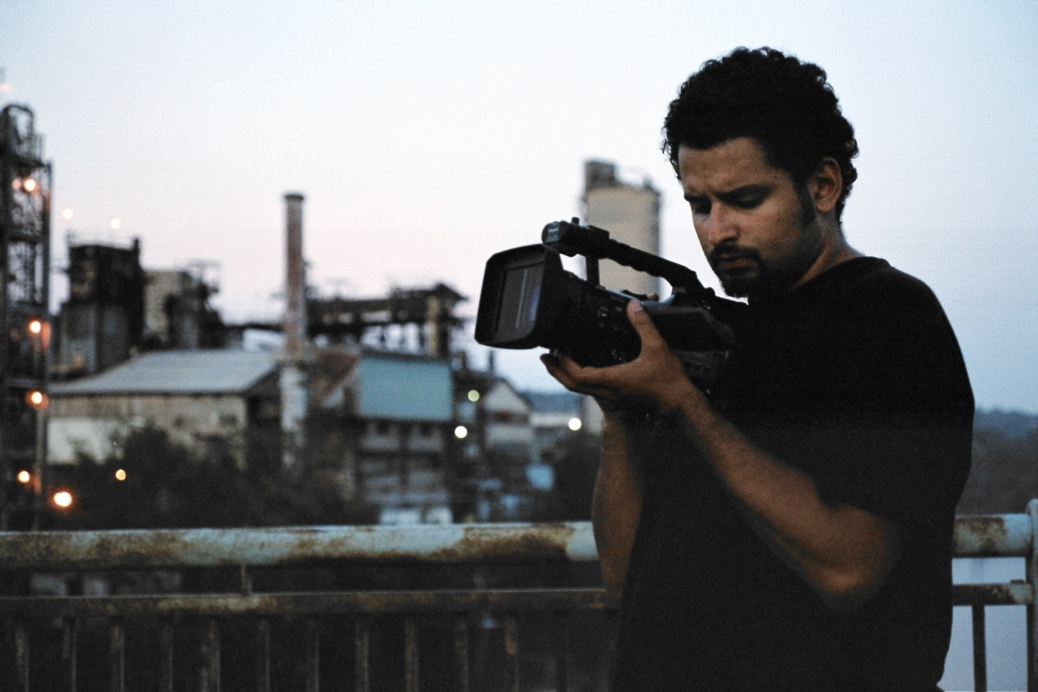 Filmmaker Edwin Martinez. Photo: Charlotte Glynn