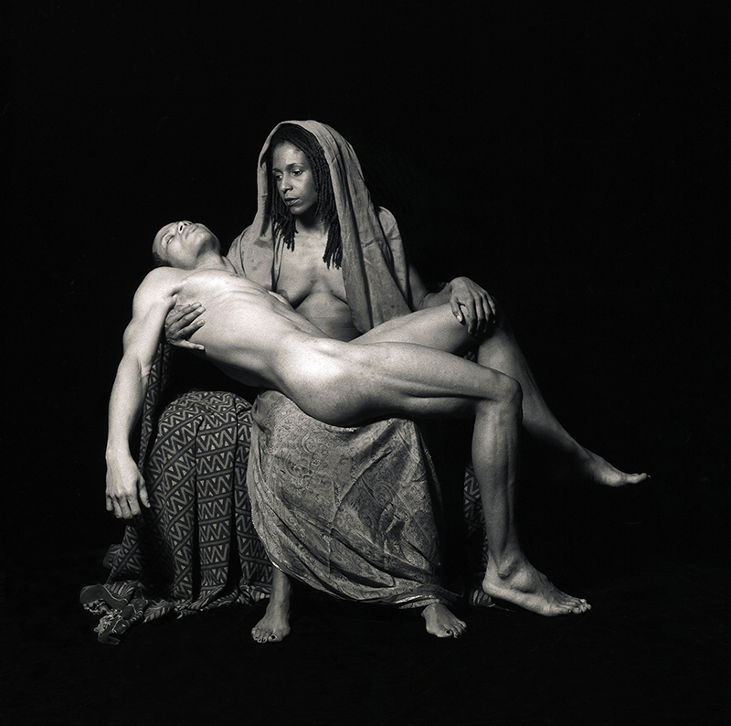 """Yo Mama's Pieta"" by Renee Cox, as seen in <em>Through a Lens Darkly: Black Photographers and the Emergence of a People</em>, a film by Thomas Allen Harris. A First Run Features Release."
