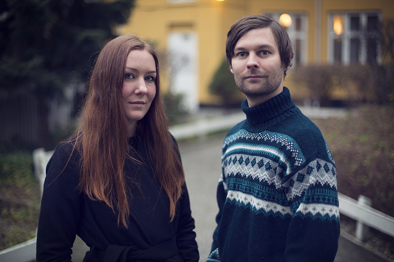 'Pervert Park' Directors Frida and Lasse Barkfors. Courtesy of POV/American Documentary, Inc.