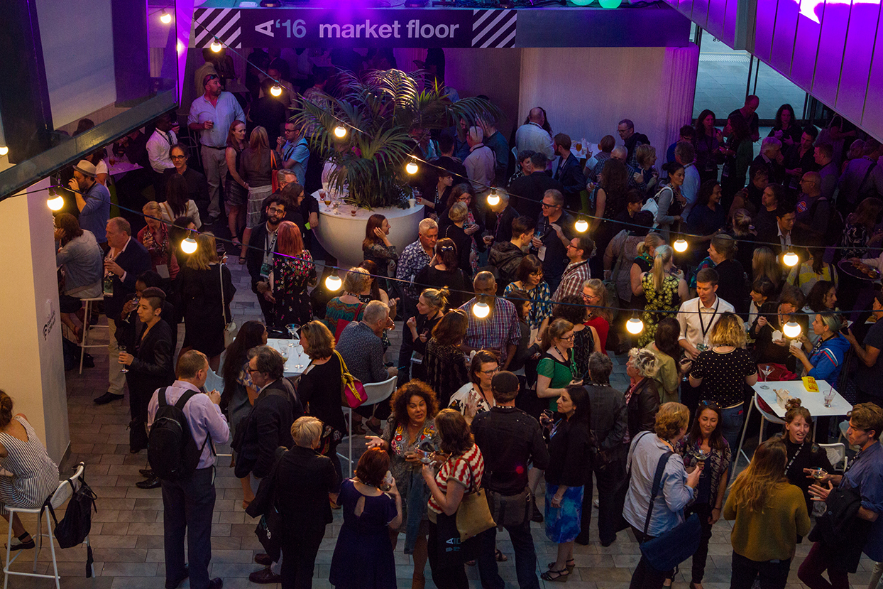 AIDC 2016 Opening Night Party. Photo by Eliza Bell