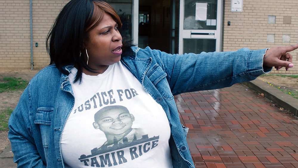 Samaria Rice, mother of Tamir Rice, a 12-year-old boy killed by the Cleveland police while playing with a toy gun in a local park. © 2016 THIRTEEN Productions LLC.