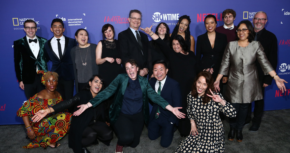 IDA staff at the 2019 IDA Documentary Awards.