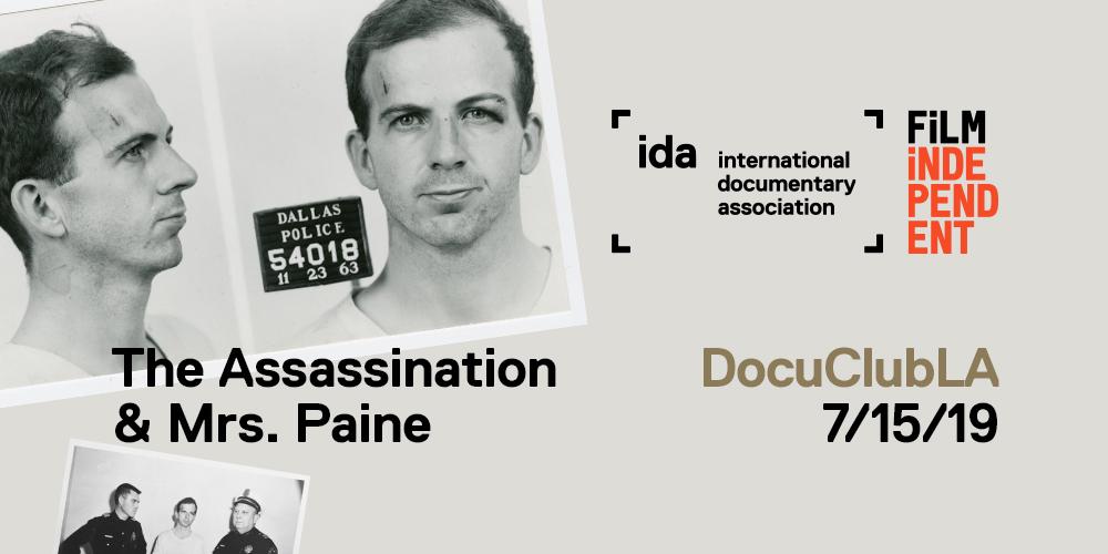 DocuClub LA: The Assassination & Mrs. Paine