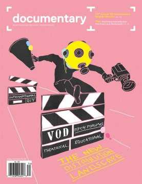 Cover of Documentary magazine Winter 2017 issue