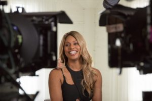 Actress/activist Lavern Cox, in Sam Feder's 'Disclosure.' Photo: Ava Benjamin-Shorr. Courtesy of Netflix