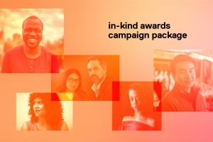 Collage of previous BIPOC filmmakers to receive IDA Screening Series In-Kind Grants.