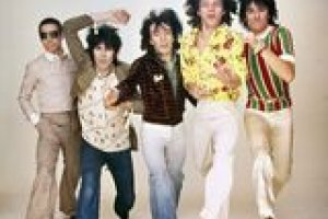 Young members of the Rolling Stones