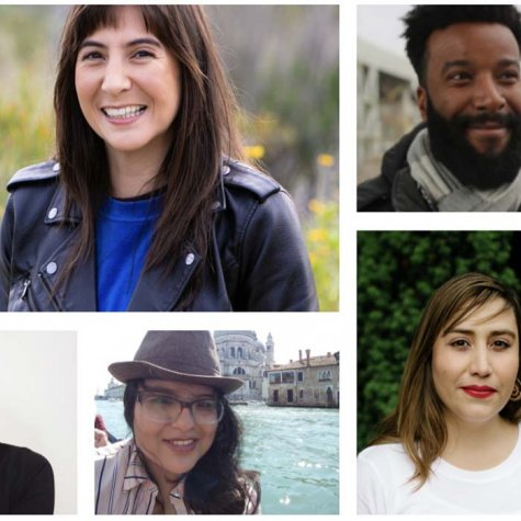 A screengrab from the BIPOC Doc Editors website showing the faces of its directory members. Courtesy of BIPOC Doc Editors.