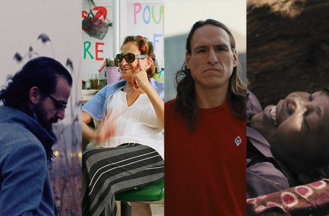 A collage of stills from the New Yorker Shorts.