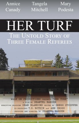 Documentary poster of 'Her Turf'