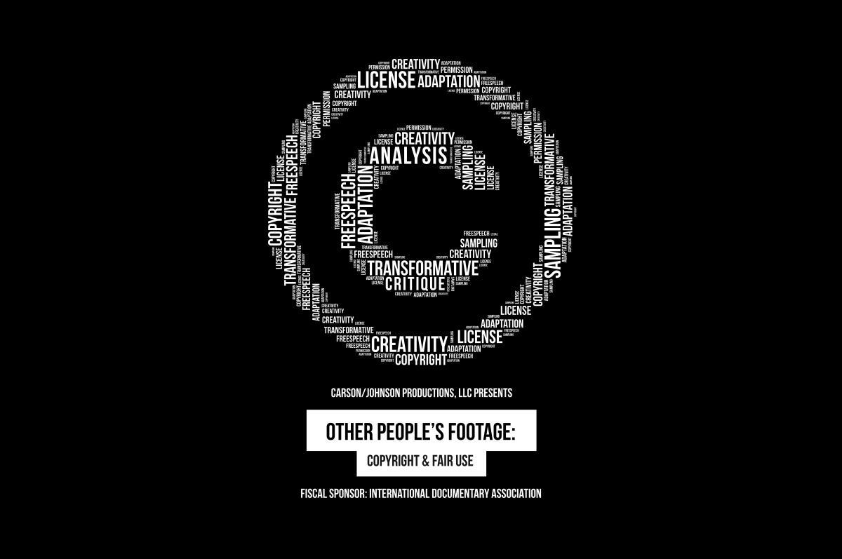 "various legal words form the ""c circle"" copyright symbol."