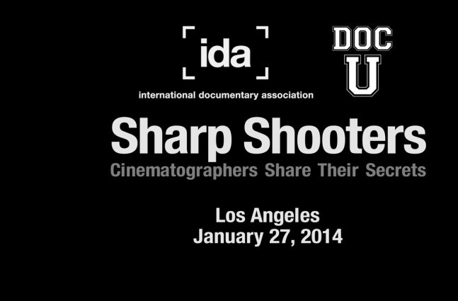 Doc U: Sharp Shooters - Cinematographers Share Their Secrets