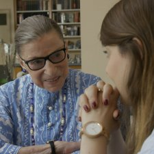 A scene from RBG, airing Sunday, Sept. 9 on CNN. Photo courtesy of Magnolia Pictures.