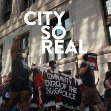 People are marching calling for community control of the Chicago Police