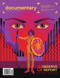 Cover of Documentary magazine Fall 2017 Issue with illustration by WBYK