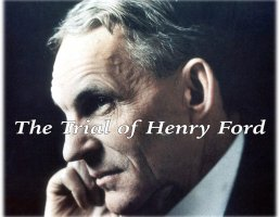 Henry Ford in profile